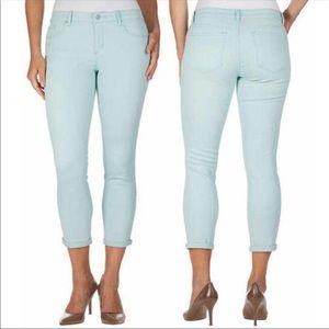 Jessica Simpson Rolled Crop Skinny Jeans Sz 10/30